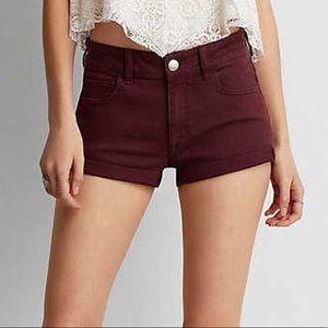 American Eagle Highrise Shorts